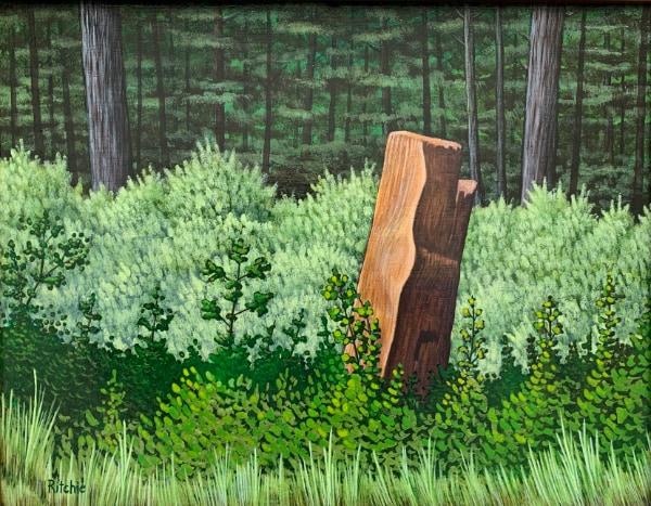 Painting of Stump
