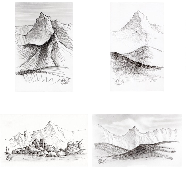 Mountain-sketch-1
