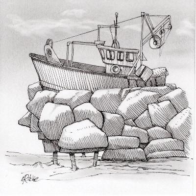 boat-drawing