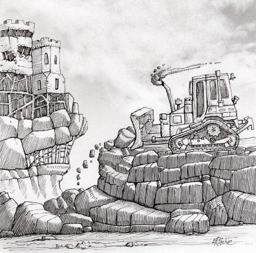 bulldozer - IG challenge