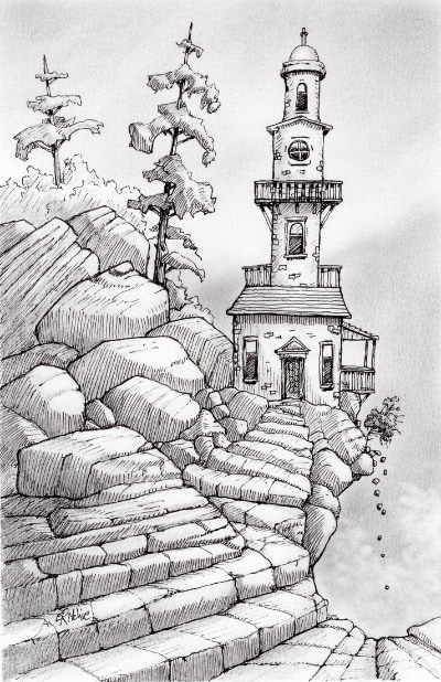 tower-drawing