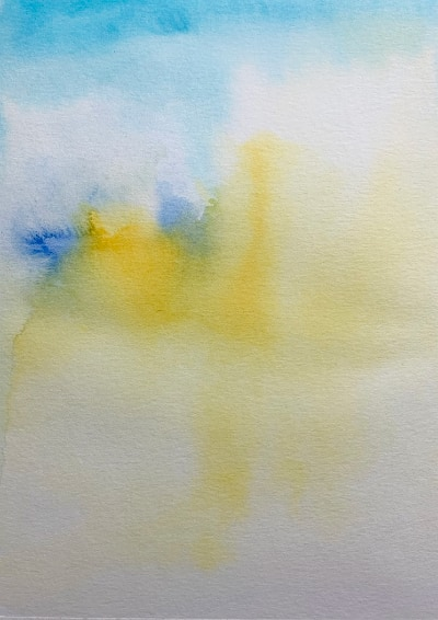 background watercolour wash